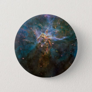 Carina nebulae in space 2 inch round button