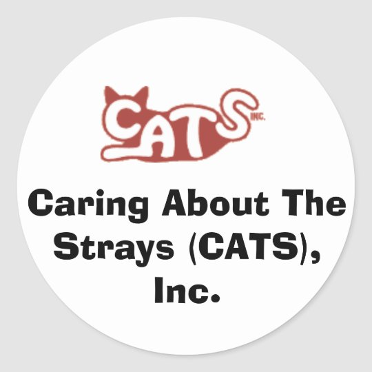 Caring About The Strays (CATS), Inc. stickers