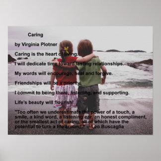 Caring by Virginia Plotner Poster