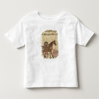 Caring for the horse, illustration shirt
