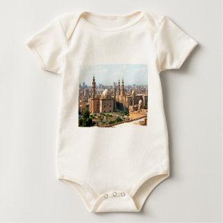 Cario Egypt Skyline Baby Bodysuit