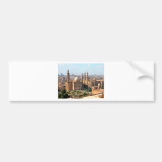 Cario Egypt Skyline Bumper Sticker