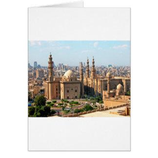 Cario Egypt Skyline Card