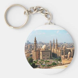 Cario Egypt Skyline Keychain