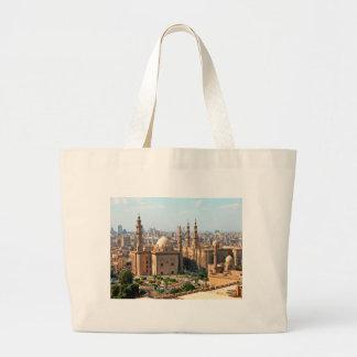 Cario Egypt Skyline Large Tote Bag