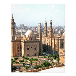 Cario Egypt Skyline Letterhead