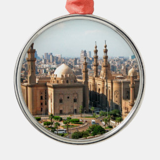 Cario Egypt Skyline Metal Ornament