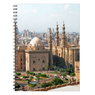 Cario Egypt Skyline Notebook