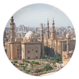 Cario Egypt Skyline Plate