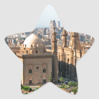Cario Egypt Skyline Star Sticker