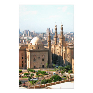 Cario Egypt Skyline Stationery
