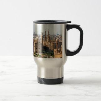 Cario Egypt Skyline Travel Mug