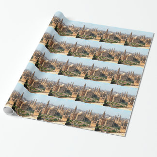 Cario Egypt Skyline Wrapping Paper