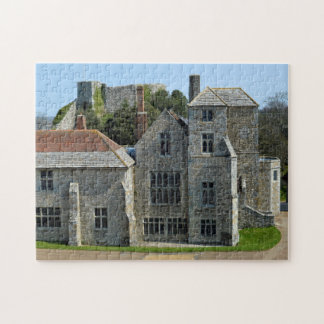 Carisbrook Castle  Isle of wight. Jigsaw Puzzle
