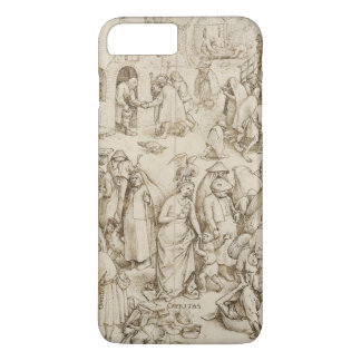 Caritas (Charity) by Pieter Bruegel the Elder iPhone 7 Plus Case