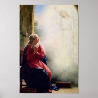 Carl Bloch Annunciation Poster