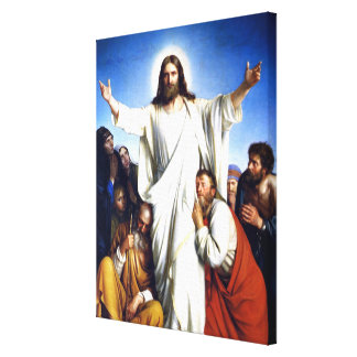 Carl Bloch artwork, Christus Colsulator Canvas Print