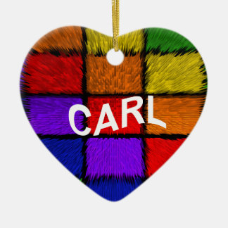 CARL CERAMIC HEART ORNAMENT
