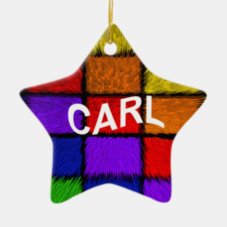 CARL CERAMIC STAR ORNAMENT