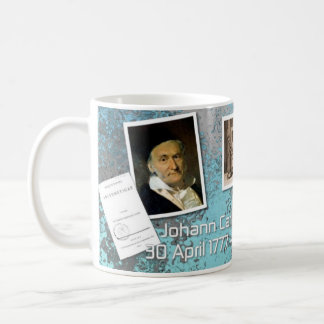 Carl F. Gauss Mug for Math Lovers