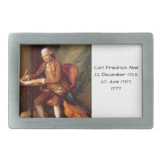 Carl Friedrich Abel Belt Buckle