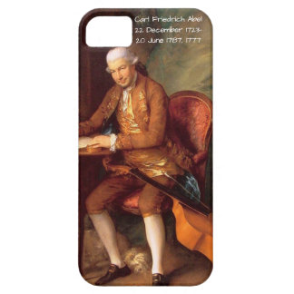Carl Friedrich Abel Case For The iPhone 5
