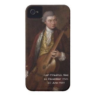 Carl Friedrich Abel Case-Mate iPhone 4 Cases