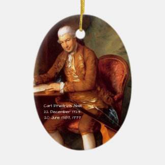 Carl Friedrich Abel Ceramic Ornament