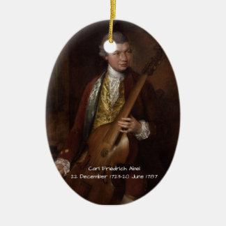 Carl Friedrich Abel Ceramic Ornament