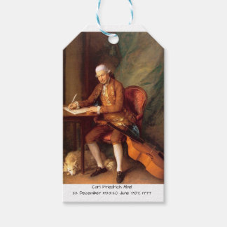 Carl Friedrich Abel Gift Tags