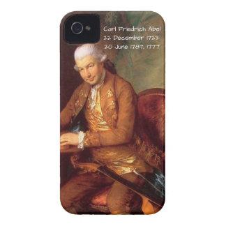 Carl Friedrich Abel iPhone 4 Case-Mate Cases