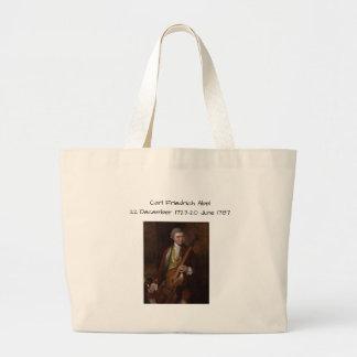 Carl Friedrich Abel Large Tote Bag