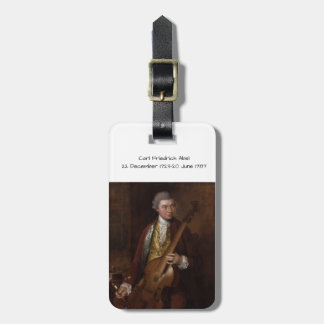 Carl Friedrich Abel Luggage Tag