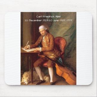 Carl Friedrich Abel Mouse Pad