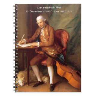 Carl Friedrich Abel Notebook
