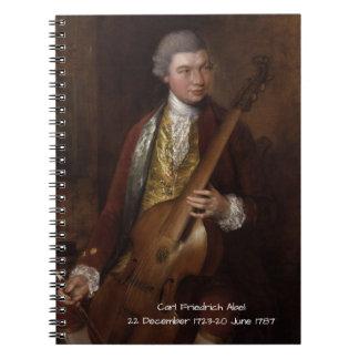 Carl Friedrich Abel Notebook