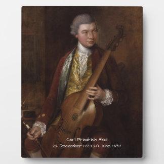 Carl Friedrich Abel Plaque