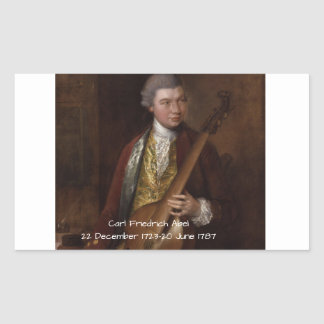 Carl Friedrich Abel Sticker