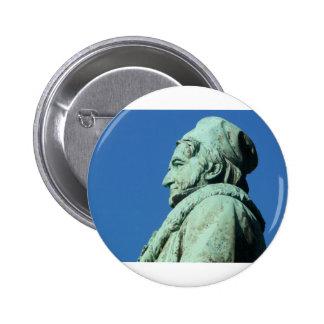 Carl Friedrich Gauß (Gauss), Braunschweig 2 Inch Round Button