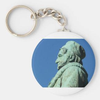 Carl Friedrich Gauß (Gauss), Braunschweig Basic Round Button Keychain
