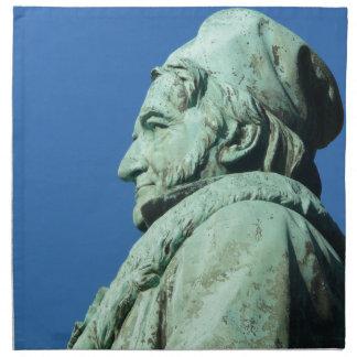 Carl Friedrich Gauß (Gauss), Braunschweig Napkin