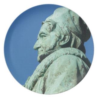 Carl Friedrich Gauß (Gauss), Braunschweig Plate