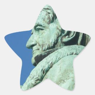 Carl Friedrich Gauß (Gauss), Braunschweig Star Sticker