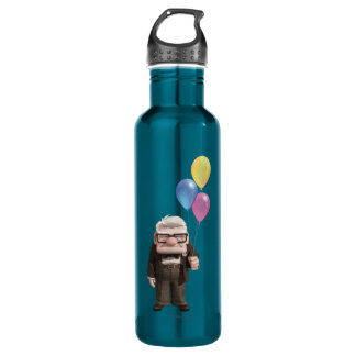 Carl from the Disney Pixar UP Movie Holding 710 Ml Water Bottle