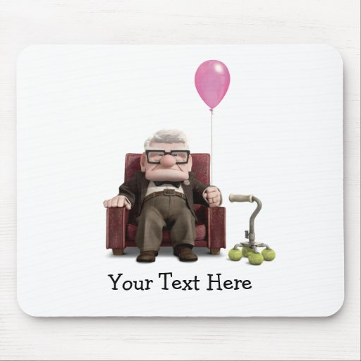 Carl from the Disney Pixar UP Movie Mousepad