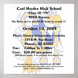 Carl Hayden Poster