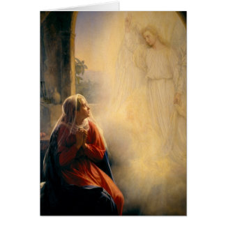 Carl Heinrich Bloch - The Annunciation Card