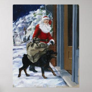 Carl Helping Santa Claus from <Carl's Christmas> b Poster