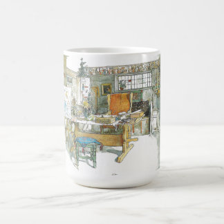 Carl Larsson Artist Studio Workroom Watercolor Mug