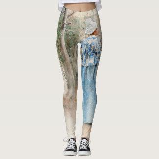 Carl Larsson Autumn All Over Print Leggings